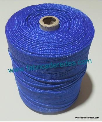 Hilo Polietileno torcido nº8 azul