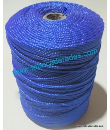 Hilo polietileno torcido Nº7 (bis) Azul