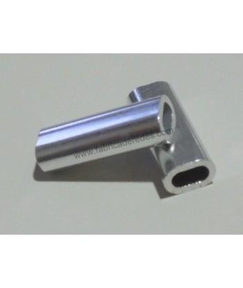 Aluminum single sleeve 2.3mm