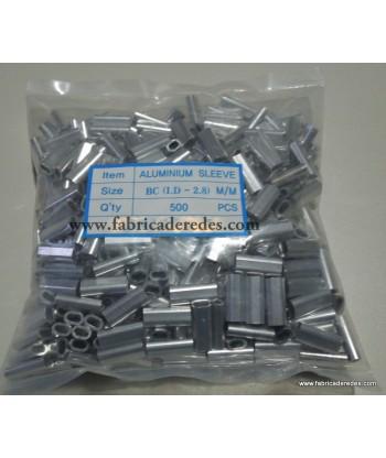 Grapa aluminio 2.8mm