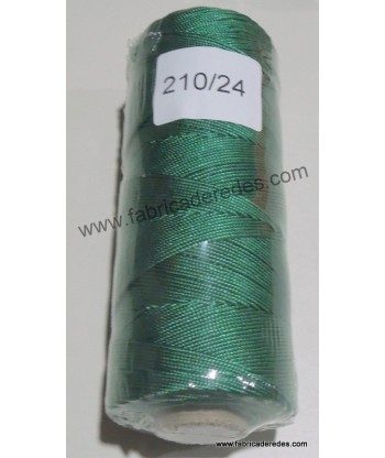Hilo nylon 210/24 (1615) Verde