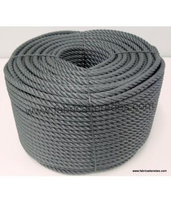 Cuerda polietileno 12mm x 200mts gris