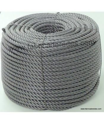 Cuerda polietileno 14mm x 200mts Gris