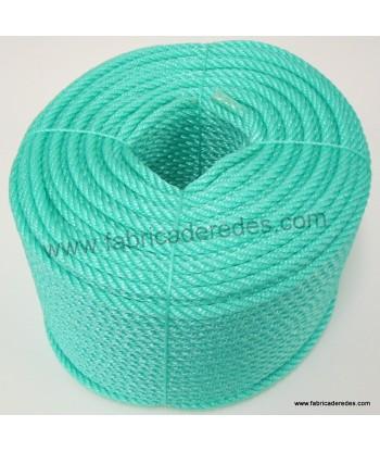 Cuerda polietileno 10mm x 200mts verde