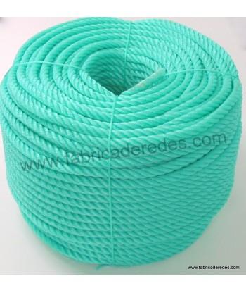 Cuerda polietileno 14mm x 200mts verde