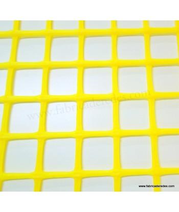 Malla plástica cuadrada Amarilla 3cm x 3cm 750 gramos