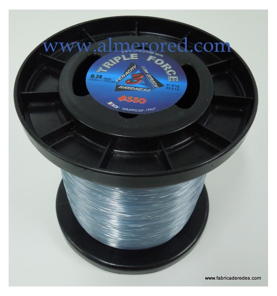 Nylon Asso Triple Force 1000 m IGFA 70//100-80 lbs