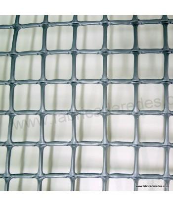Malla cuadrada Gris plata 3cm x 3cm 650 gramos