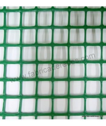 Malla cuadrada 2,5cm x 2,5cm 560 gramos Verde
