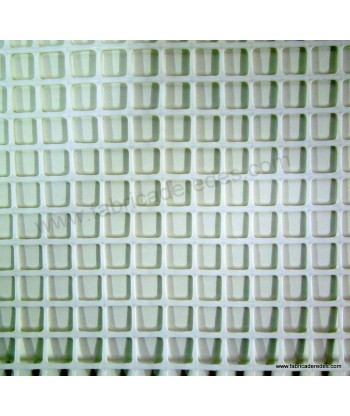 Malla cuadrada blanca 1,8cm x 1,8cm 620 gramos