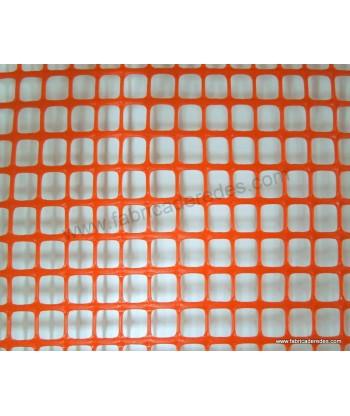 Malla cuadrada NARANJA 1,5cm x 1,5cm 450 gramos