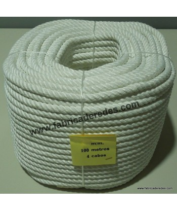 Nylon rope high tenacity white