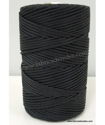 Nylon trenzado 4840/3 (Trencilla) Negra