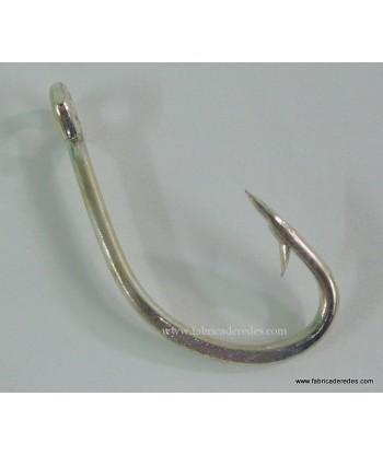 Anzuelo torcido anilla 5/0 Reforzado