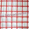 Maglia quadrata RED 3CM X 3CM 650 grammi