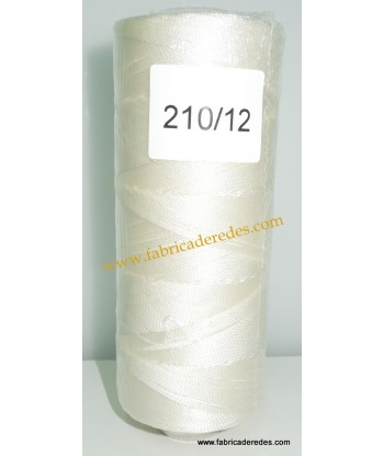 Hilo nylon 210/12 (3330) Blanco