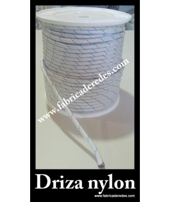 Corde de nylon tressée