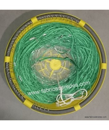 Braid longline 4mm x 100 meters x 50 hooks