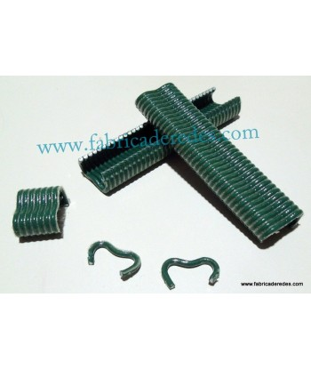 Plasticized green staple A18