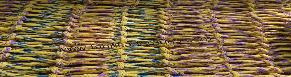 Redes de polietileno trenzado y torcido