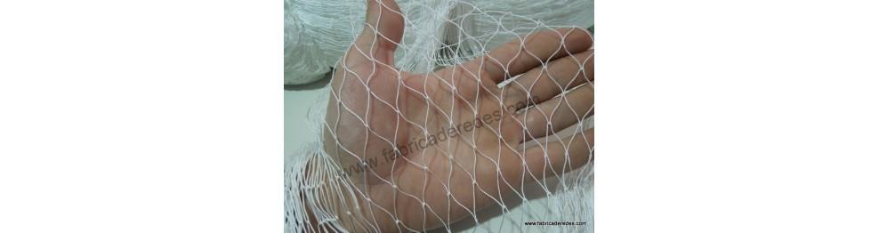 Redes de nylon con nudo 210/6