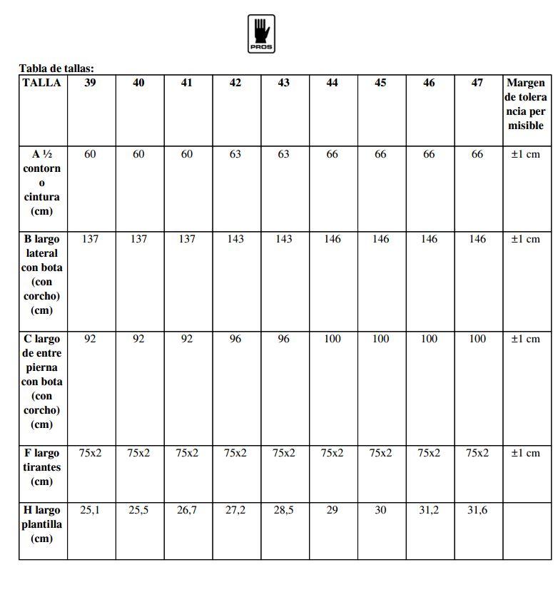 Tabla de vadeadores sbm01 fluo naranja