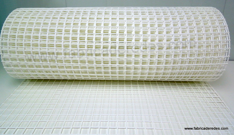 Malla plástica refrozada blanca 750g